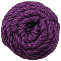 Brown Sheep Cotton Fine Yarn (1/2 lb Cone) Prosperous Plum CW710 - 33
