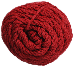 Brown Sheep Cotton Fine Yarn (1/2 lb Cone) Salmon Berry Red CW935 - 53