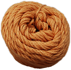 Brown Sheep Cotton Fine Yarn (1/2 lb Cone) Sunkissed Apricot CW315 - 12