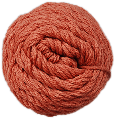 Brown Sheep Cotton Fine Yarn (1/2 lb Cone) Terracotta Canyon CW625 - 31