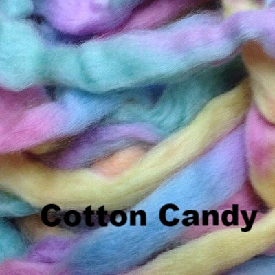 Louet Northern Lights Space Dyed Wool Tops (1/2 lb bags) Cotton Candy - 24