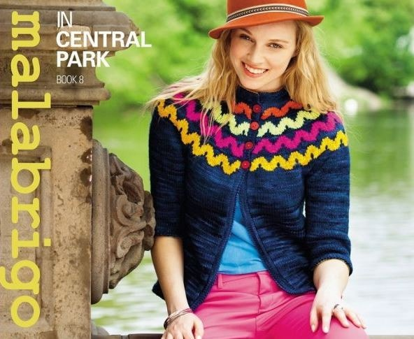 Malabrigo Pattern Book 8 - in Central Park  - 1