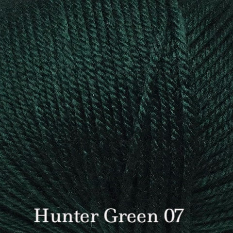 Ella Rae Cozy Soft Solids Yarn Hunter Green 07 DISC - 44