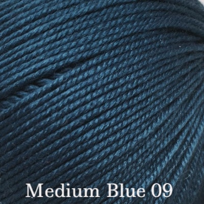 Ella Rae Cozy Soft Solids Yarn Medium Blue 09 DISC - 45