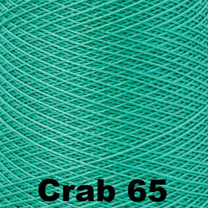 3/2 Mercerized Perle Cotton-Weaving Cones-Crab 65-