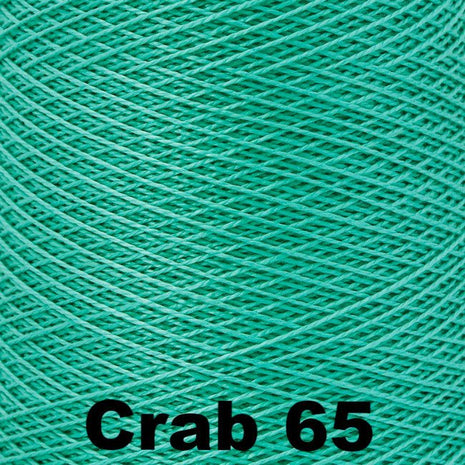 5/2 Perle Cotton 1lb Cones Crab 65 - 84