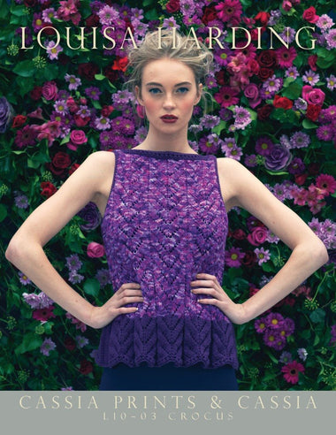 Louisa Harding Crocus Pattern