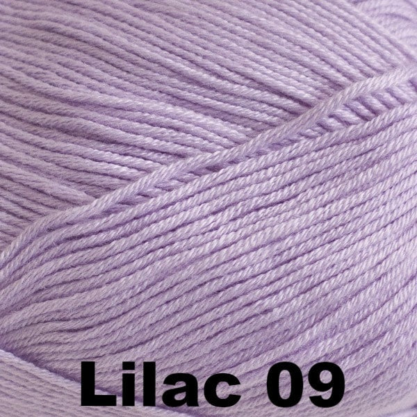 Paradise Fibers Yarn Cascade Sateen Yarn Lilac 09 - 5