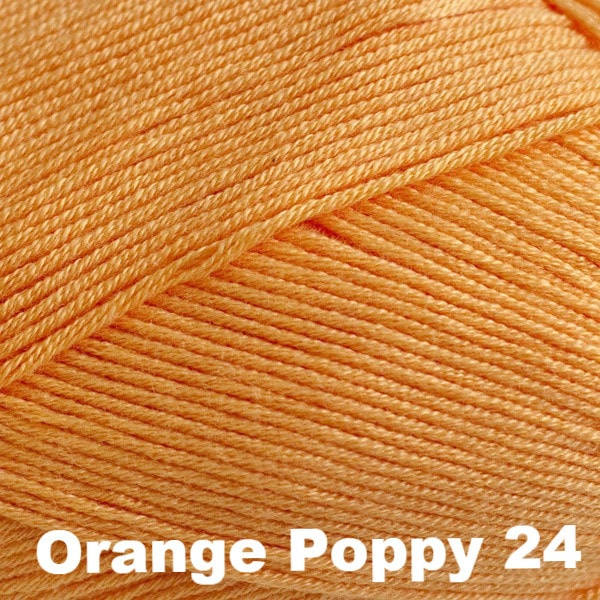 Paradise Fibers Yarn Cascade Sateen Yarn Orange Poppy 24 - 10