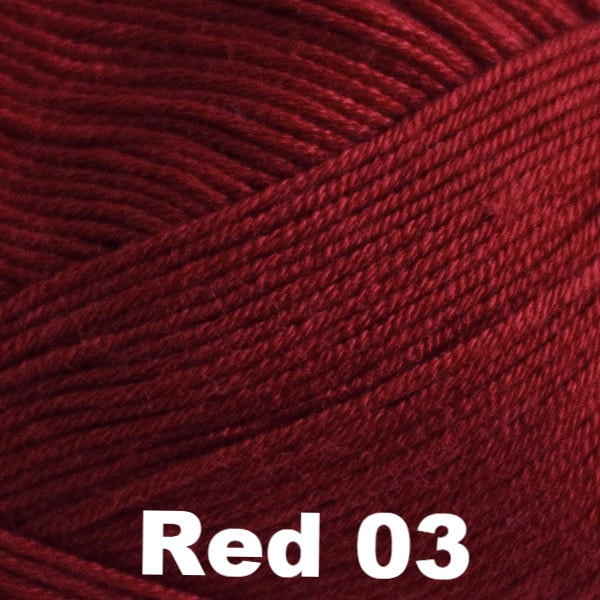 Paradise Fibers Yarn Cascade Sateen Yarn Red 03 - 2