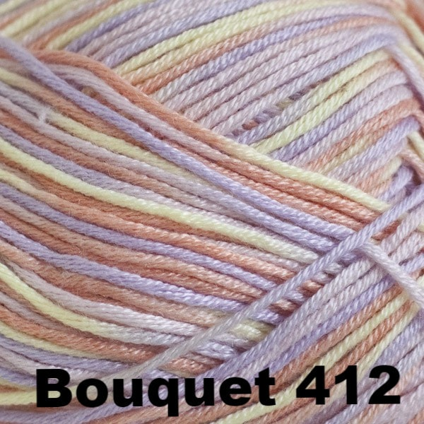 Paradise Fibers Yarn Cascade Sateen Yarn Bouquet 412 - 12