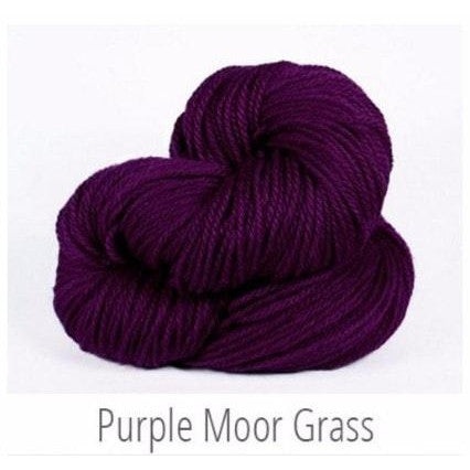 The Fibre Co. Cumbria Worsted Yarn Purple Moor Grass 57 - 9