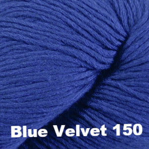 Paradise Fibers Yarn Cascade Venezia Worsted Yarn Blue Velvet 150 - 9