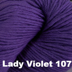 Paradise Fibers Yarn Cascade Venezia Worsted Yarn Lady Violet 107 - 2