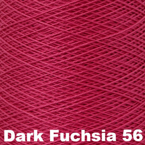 5/2 Perle Cotton 1lb Cones Dark Fuchsia 56 - 65