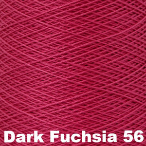 3/2 Mercerized Perle Cotton-Weaving Cones-Dark Fuchsia 56-