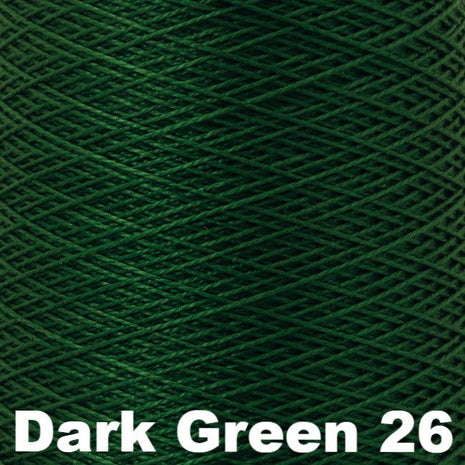 5/2 Perle Cotton 1lb Cones Dark Green 26 - 55