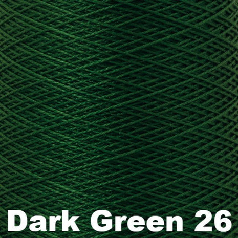 10/2 Perle Cotton 1lb Cones Dark Green 26 - 55