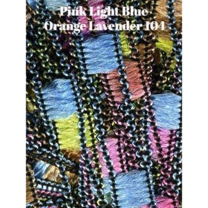 Dazzle Yarn-Yarn-Pink Light Blue Orange Lavender-