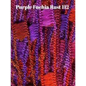 Dazzle Yarn-Yarn-Purples Fuschia and Rust-