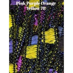 Dazzle Yarn-Yarn-Pink Purple Orange Yellow-