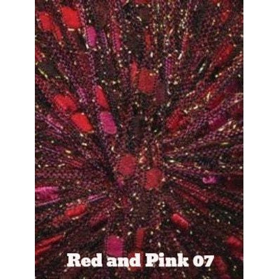 Dazzle Metallic Yarn Red and Pink 07 - 7