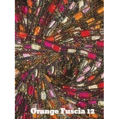 Dazzle Metallic Yarn Orange Fuscia 12 - 12