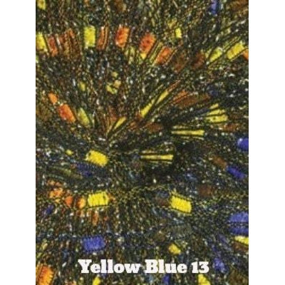 Dazzle Metallic Yarn Yellow Blue 13 - 13