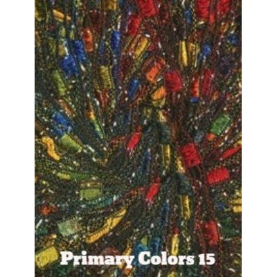 Dazzle Metallic Yarn Primary Colors 15 - 15