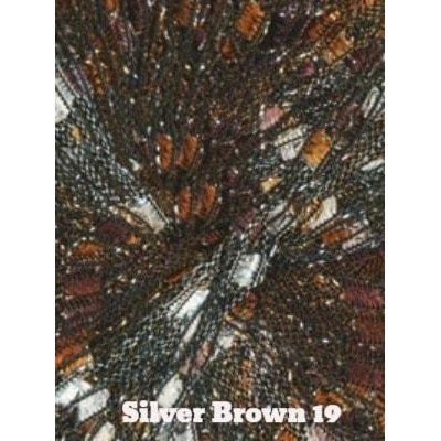 Dazzle Metallic Yarn Silver Brown 19 - 19