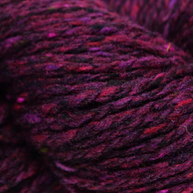 Paradise Fibers Studio Donegal Soft Donegal Tweed - Burgundy - 1
