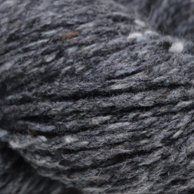 Paradise Fibers Studio Donegal Soft Donegal Tweed - Charcoal - 1