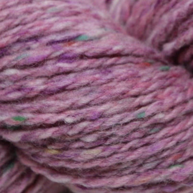 Paradise Fibers Studio Donegal Soft Donegal Tweed - Pink Heather - 1