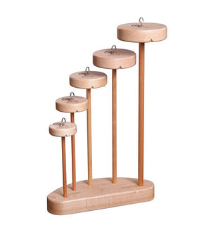 Ashford Complete Top Whorl Drop Spindle Collection-Spindles-