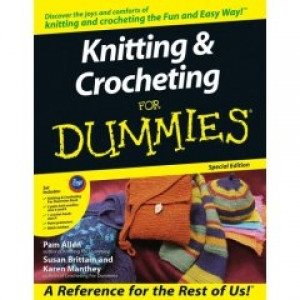 Knitting & Crocheting for Dummies Set