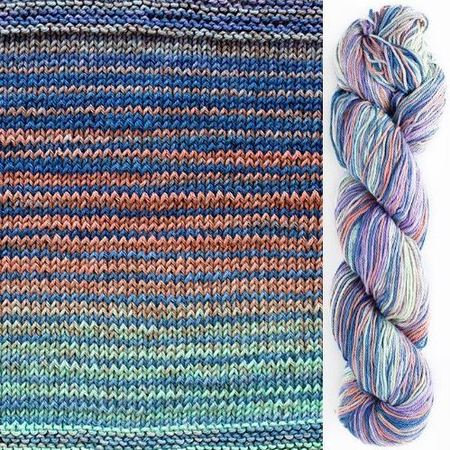 Easy Scarf Kit Featuring UrthYarns Uneek Cotton-Kits-Paradise Fibers