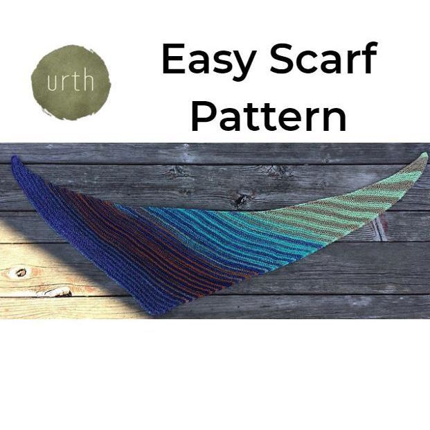 Easy Scarf Pattern by Diane L. Augustin-Patterns-Paradise Fibers