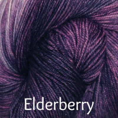 Paradise Fibers Yarn Palouse Yarn Company Cashmere Squeeze Elderberry - 4