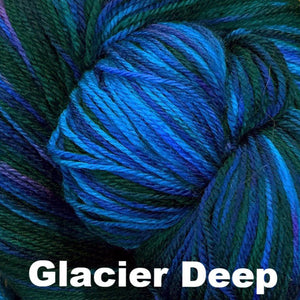 Fairy Fine Sock Yarn-Yarn-Glacier Deep-
