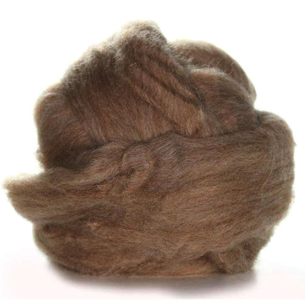 Ashland Bay Shetland Wool Rovings 4oz bundle Fawn - 3