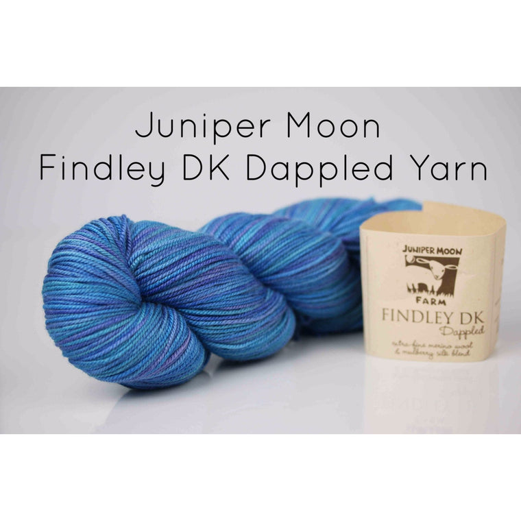 Paradise Fibers Yarn Juniper Moon Farm- Findley DK Dappled Yarn  - 1