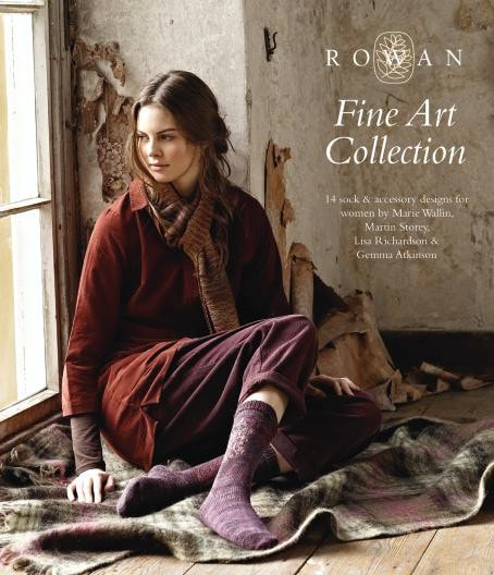Rowan Fine Art Collection Pattern Book
