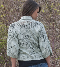 Floral Lace Jacket Pattern-Patterns-Paradise Fibers