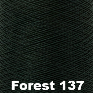 3/2 Mercerized Perle Cotton-Weaving Cones-Forest 137-
