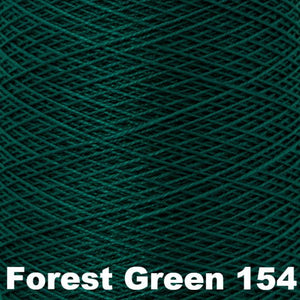 10/2 Perle Cotton 1lb Cones-Weaving Cones-Forest Green 154-