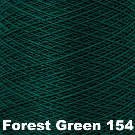 10/2 Perle Cotton 1lb Cones Forest Green 154 - 61