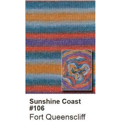 Queensland Collection Sunshine Coast Yarn Fort Queenscliff 106 - 5