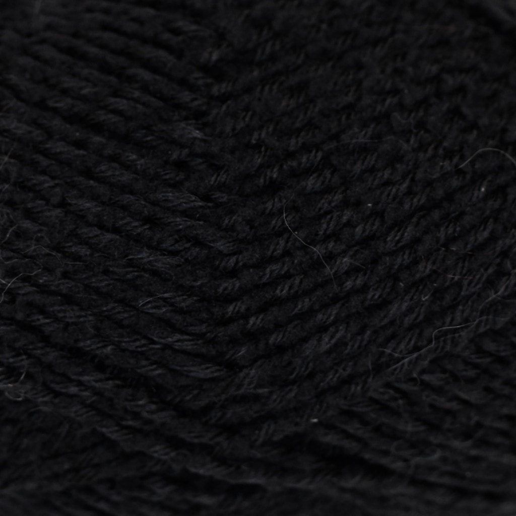 Paradise Fibers Yarn Fortissima Socka Teddy - Black