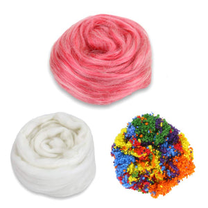 red velvet cake frosted cake fiber bundle
