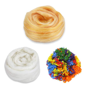angel food cake frosted cake fiber bundle